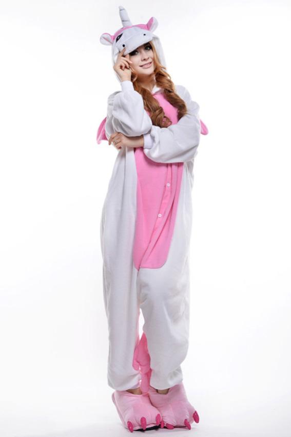 Кигуруми Единорог белый с розовым купить всего за 1950 руб - заказать пижаму  в интернет-магазине недорого! a71197d22400d