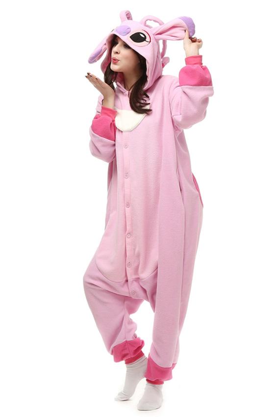 Кигуруми Подружка Стича (светло-розовая) купить всего за 1950 руб - заказать  пижаму в интернет-магазине недорого! f355779984c12