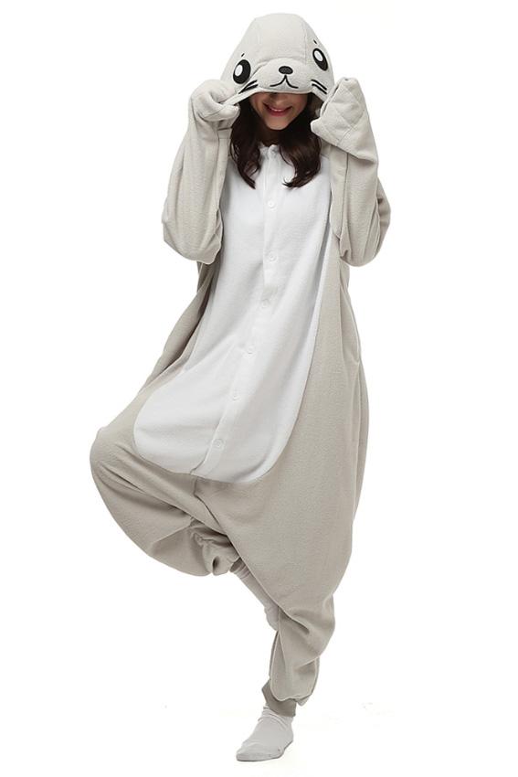 Кигуруми Морской котик купить всего за 1950 руб - заказать пижаму в ... 0c47abd564c09