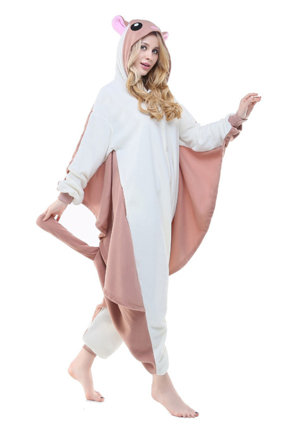 Кигуруми Белка-летяга купить всего за 1950 руб - заказать пижаму в  интернет-магазине недорого! 5290298080900