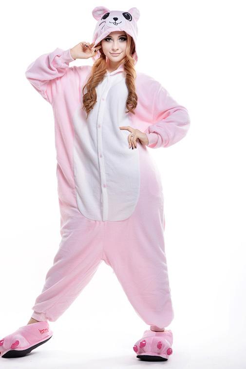 Кигуруми Мышка розовая купить всего за 1950 руб - заказать пижаму в ... 88cdf2f099e88