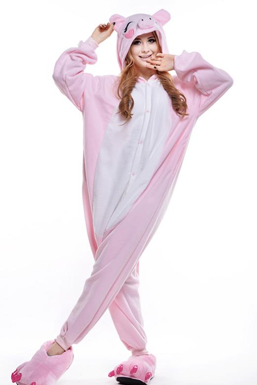 Кигуруми Свинка розовая купить всего за 1950 руб - заказать пижаму в ... 63a538e05e6ef
