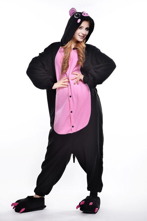 Кигуруми Свинка черная с розовым купить всего за 1950 руб - заказать ... eafbb8a75a8bf