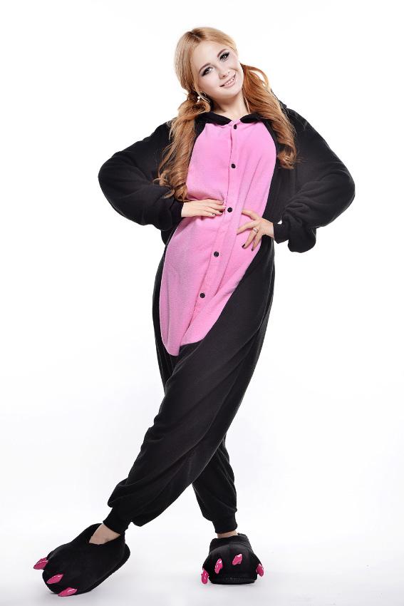 Кигуруми Свинка черная с розовым купить всего за 1950 руб - заказать пижаму  в интернет-магазине недорого! 0c2061d37f5d2