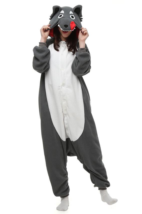 Кигуруми Серый волк купить всего за 1950 руб - заказать пижаму в ... 961d113914f23