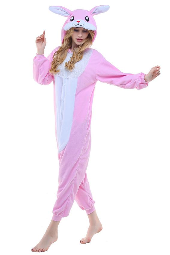 Кигуруми Розовый кролик купить всего за 1950 руб - заказать пижаму в  интернет-магазине недорого! 0c224b04b0454
